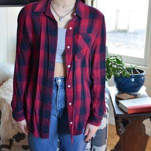 Aeropostale flannel shirt (sz XS)